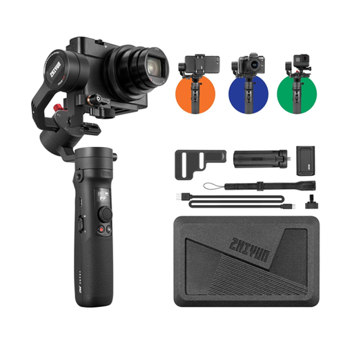 Buy Zhiyun Crane m2 at Low Price in Qatar and Doha from the best electronics online store - Get Free Home Delivery across Qatar from Electronyat.qa with Service warranty.