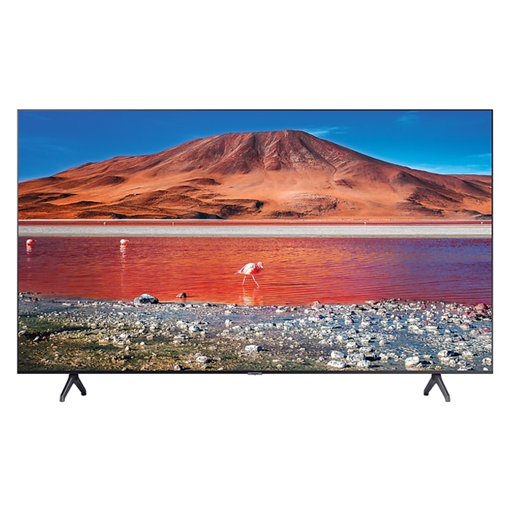 Buy the latest Samsung TU7000 58 inch Smart TV UA58TU7000UXUM  online at the best price and get it delivered across Qatar from Electronyat.qa with Free Home Delivery & optional Extended warranty, check out specs and price of this 4K UHD TV with its Crisp and vivid Colors, crystal display and processor.