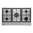 Picture of Zanussi ZGH96524XS Gas Hob, Silver