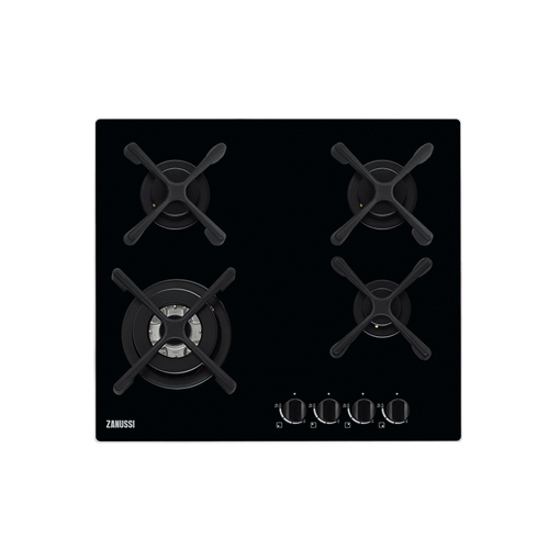 Picture of Zanussi ZGO68434BA Built In Gas Hob