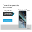 Picture of Samsung Galaxy S20 plus Screen Protector [Dome Glass] Full 3D Curved Edge Tempered Glass Shield