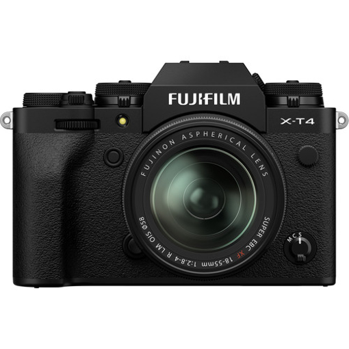 Picture of FUJIFILM X-T4 Mirrorless Digital Camera with 18-55mm Lens